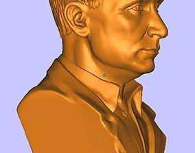 3D Bust of Vladimir Putin