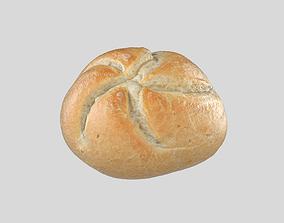 game-ready Kaiser Bread 3D Model Photoscan