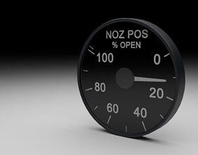 F16 Nozzle Position Indicator 3D