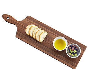 Paddle Board 3D model