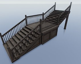 3D asset House Structure - Staircase