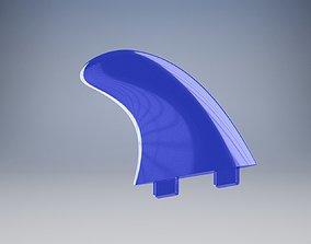 3D print model Surfboard fin