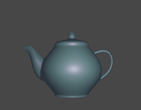 3D model Teapot breakfast