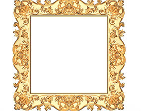 Classic Frame 01 3D asset