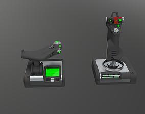 Logitech G X52 Professional Space 3D model