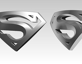 Super logo symbol 3D print model