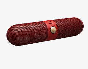 3D asset Beats Stereo Mobile Speaker 002