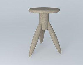 Rocket Stool (small) 3D model