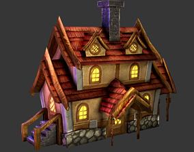 enironment House 3D model realtime