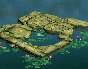 3D Game Model - Kasyapa Forest Water Platform