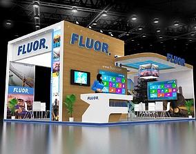 3D model Exhibition Stand Design 8x6