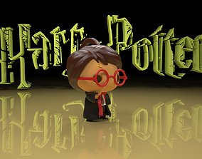 3D printable model HARRY POTTER KEYCHAIN