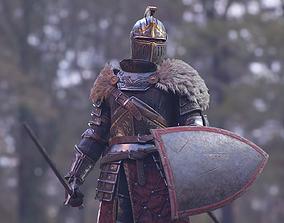 Knight Errant 3D asset