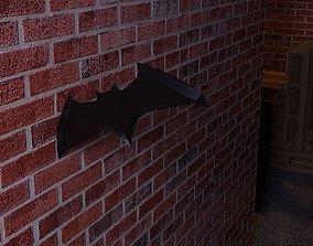 3D Batarang of Batman VR / AR ready