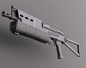 Bizon Gun Machine 3D asset