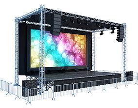 Concert Stage show 3D