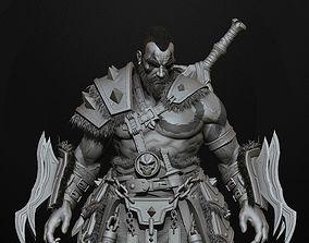 3D barbarian highpoly sculpt zbrush