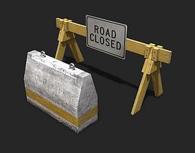Barricades 3D model