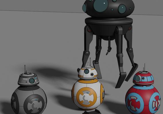 More Droids - Star Wars - Fan Art
