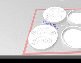 3D printable model Copy of weed Gamer