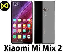 Xiaomi Mi Mix 2 Black 3D model