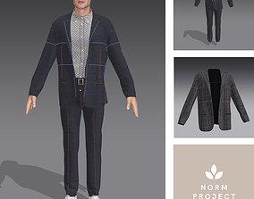 Suit-Men 3D model