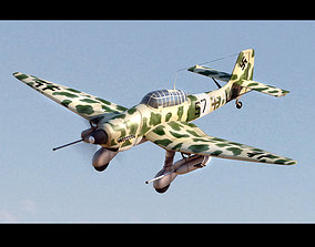 Junkers Ju 87 B Stuka 3D