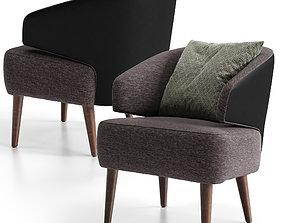 3D model Confort Line ZOE Armchair