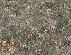 Ground terrain forest tundra PBR pack 2 3D