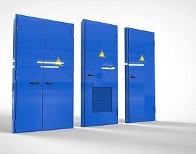 Metall doors collection 3D model
