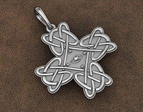 Pendant model Celtic cross by tattoo