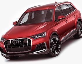 Audi Q7 2020 3D