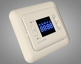 Thermostats Climate Control System 3D