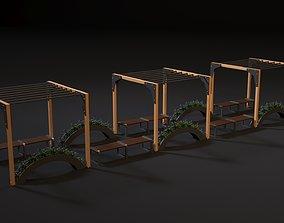 Rest zone 3D model