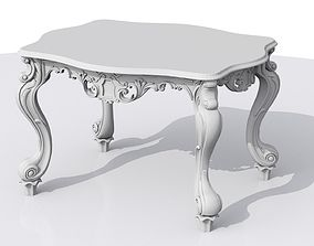 3D print model Crafted Porcelain Table