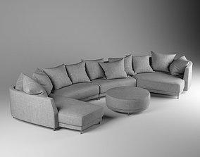 Rolf Benz sofa Onda 3D
