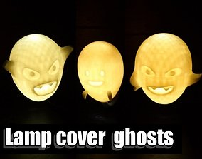 ornament Lamp cover ghosts 3D printable model