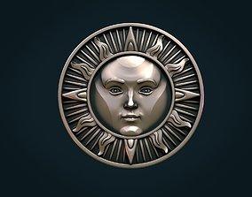 jewelry Sun Pendant 3D printable model