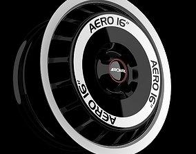 3D model Wheel Ronal AERO 16