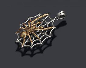 3D printable model Spider pendant web