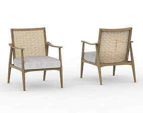 CANE CHAIR 3D upholstery