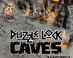 3D print model PuzzleLock Caves