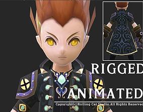 RPG Knight Character Man A 3D asset