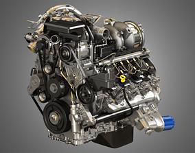 Duramax Engine 3D model