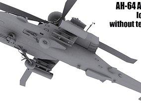 AH-64 Apache 3D model realtime