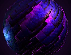Obsidian Rock Material PBR 3D asset