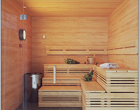 spoon Finnish Sauna 3 3D