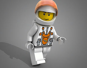 Lego Mars Mission Character 3D model