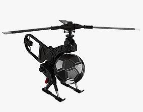 3D asset Copter Drone