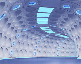 3D Futuristic Tunnel